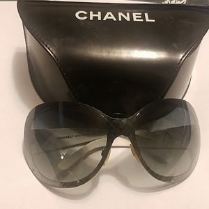 Authentic Chanel sunglasses with case